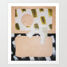 Marmalade Marbles II Art Print