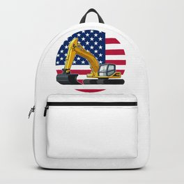 Excavator America Backpack