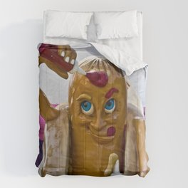 Hot Dog Dressing Up Comforters