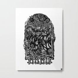 Bobo Classic Metal Print