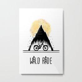 Wild Ride Metal Print