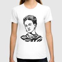frida T-shirts featuring Frida  by b & c
