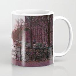 Biking in Amsterdam Coffee Mug