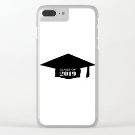 Class of 2019 Clear iPhone Case