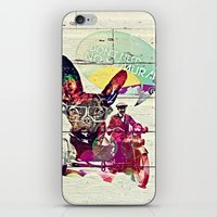 french iPhone & iPod Skins featuring FRENCH by DON'T NEED NO SAMURAI
