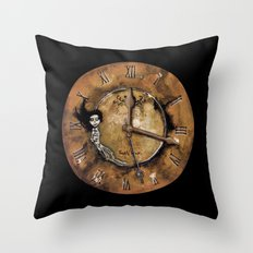 Counting Out Time Throw Pillow
