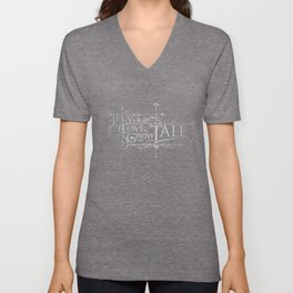 Let Your Love Grow Tall Unisex V-Neck
