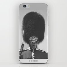 Not A Guard Anymore iPhone & iPod Skin