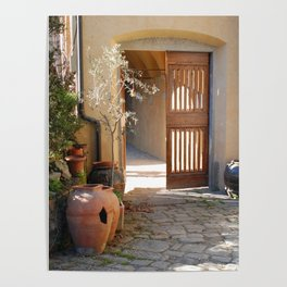 Spring Light in Tuscany Poster