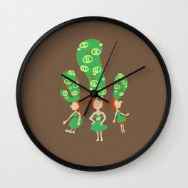 cactus mini Wall Clock