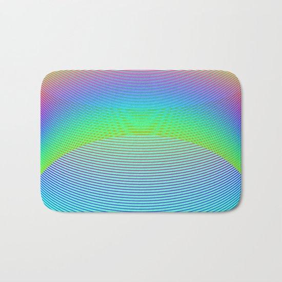 Endless Rainbow Bath Mat