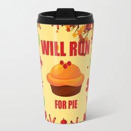Running T-Shirt Funny Run Tee Gift For Runner Apparel Travel Mug