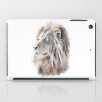 the lion king iPad Cases featuring Lion King by pablolabel