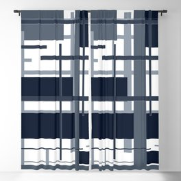 navy Blackout Curtain