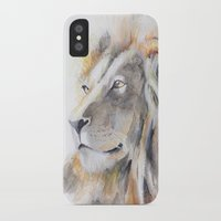 the lion king iPhone & iPod Cases featuring Lion King by pablolabel