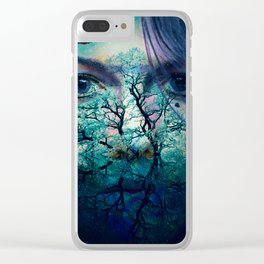 Diana-Goddess of nature Clear iPhone Case