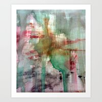 splatter Art Prints featuring Splatter  by Lizzshop