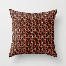 scribble (mixed) Throw Pillow