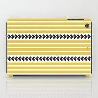 striped iPad Cases featuring Striped by Mariana Nabas