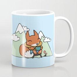 Little Camping Fox Coffee Mug