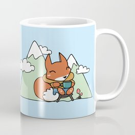 Little Camping Fox Coffee Mug
