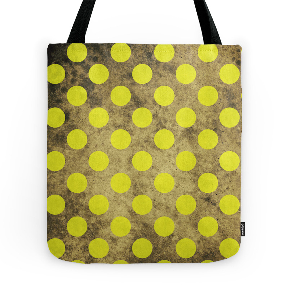 Green Dots Pattern Tote Purse by greennatural (TBG7886167) photo