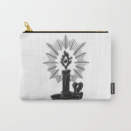 All Seeing Candle Light Carry-All Pouch