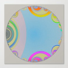 Graphic Bubble Canvas Print