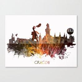 Cracow Poland Canvas Print
