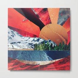 Sunset Collage Metal Print