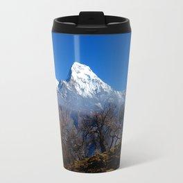 Panoramic View Of Annapurna Ghorepani Poon Hill Travel Mug