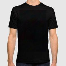 Wrinkle Pixel Mens Fitted Tee Black MEDIUM