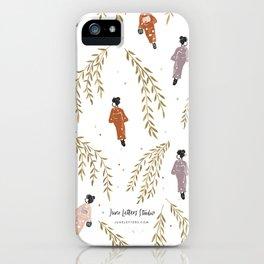 Kinosaki Girls iPhone Case
