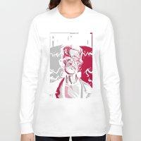 frankenstein Long Sleeve T-shirts featuring frankenstein by don motta