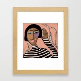 Oblina Framed Art Print