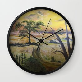 African Soul - Nature Spirit Wall Clock
