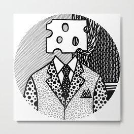 Roy Lichtenstein - Jobs... Not Cheese! Metal Print