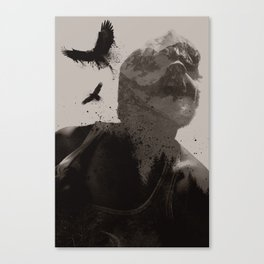 Eagle Boy Canvas Print