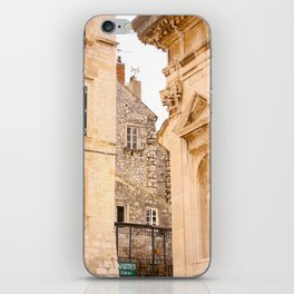 Terrace in Old Town Europe #decor #society6 iPhone Skin