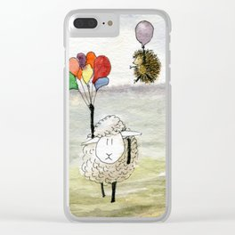 We Haven't Thought This Through Clear iPhone Case