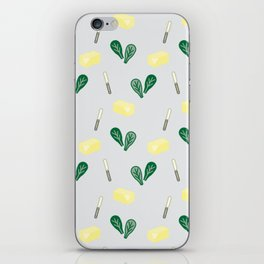 Butter & Spinach iPhone Skin