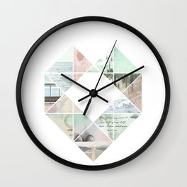 You Never Walk Alone Wall Clock