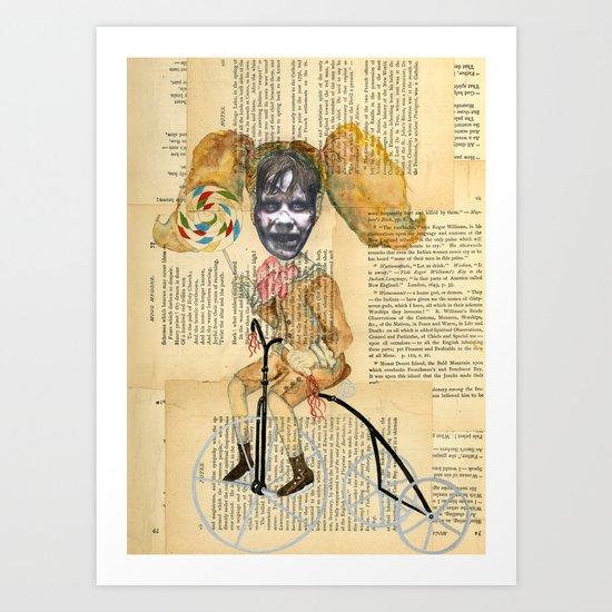 La Exorcista en triciclo Art Print