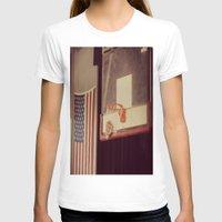 basketball T-shirts featuring Basketball by KimberosePhotography