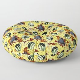 Watermelon Fiesta Floor Pillow