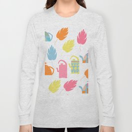 Tea pattern 3 Long Sleeve T-shirt