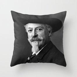 William F. Cody Throw Pillow