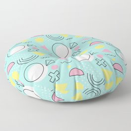 Geometric Pattern 36 Floor Pillow