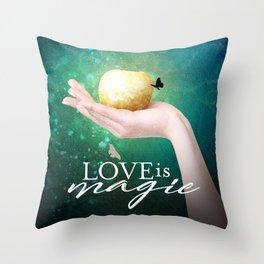 Love is Magic Throw Pillow
