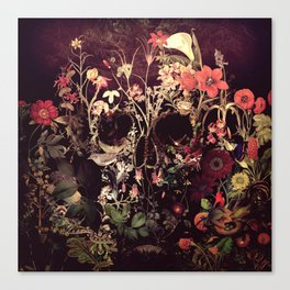 Bloom Skull Canvas Print